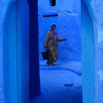 Blue Chefchaouen